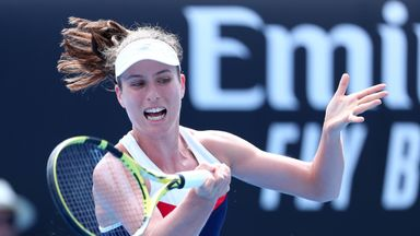 Konta beats Tomljanovic in first round