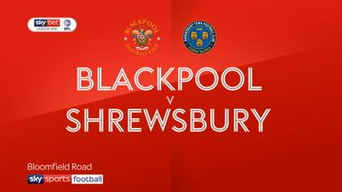 Blackpool 0-0 Shrewsbury