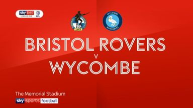 Bristol Rovers 0-1 Wycombe