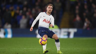 'I don't ask Eriksen about his future'