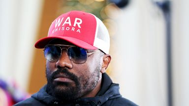Haye: Chisora ready for AJ