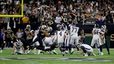 Rams 26-23 Saints (OT)
