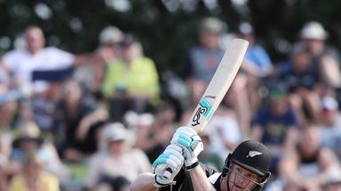 Neesham smashes five sixes in over!