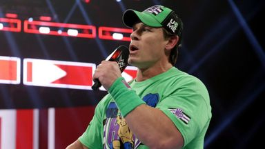 Cena an injury doubt for Royal Rumble