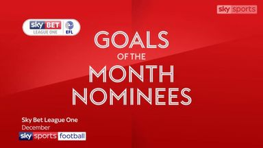 League One Goal of the Month - December