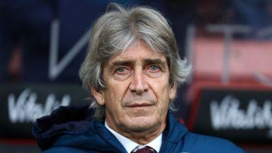 Pellegrini: West Ham will combat racism