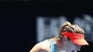 Sharapova refuses to answer questions