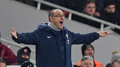Sarri's 'desperate' strategy