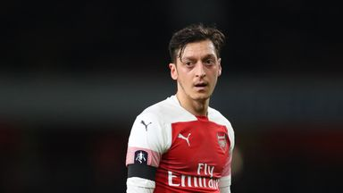 'Ozil situation like a comedy sketch'