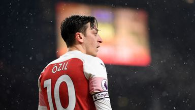 'No place for Ozil under Emery'