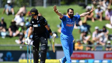 NZ vs India: 1st ODI highlights