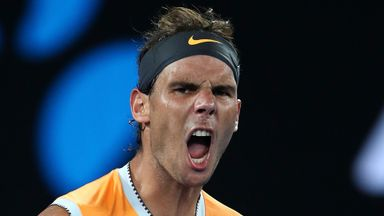 Nadal breezes into Aus Open final