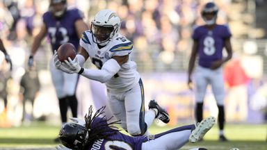 Chargers 23-17 Ravens