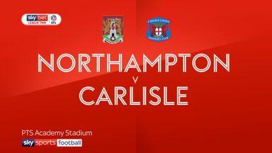 Northampton 3-0 Carlisle