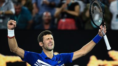 Djokovic reaches Australian Open final