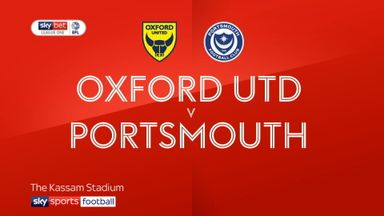Oxford Utd 2-1 Portsmouth