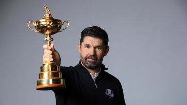 Harrington named Europe Ryder Cup captain