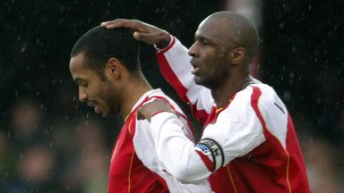 Vieira excited by Henry clash