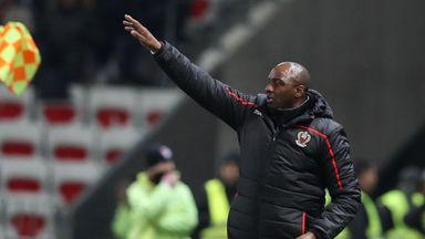 Vieira building coaching career