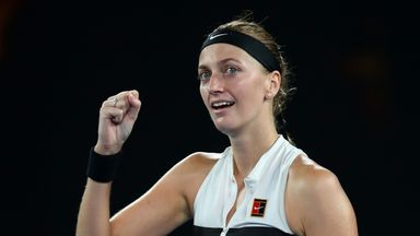 Kvitova beats Collins to reach final