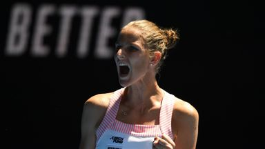Pliskova beats Serena Williams