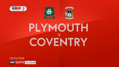 Plymouth 2-1 Coventry