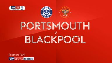 Portsmouth 0-1 Blackpool