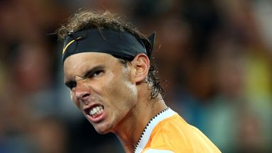 Nadal breezes into semi-finals