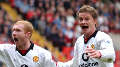 Solskjaer backs Scholes to succeed