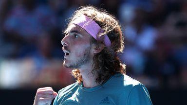 Tsitsipas into Australian Open semis