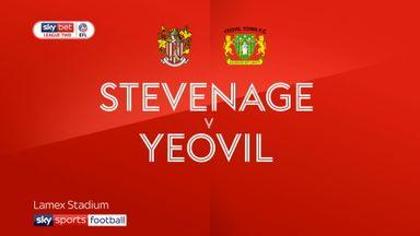 Stevenage 1-0 Yeovil