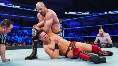 The Miz takes on Cesaro