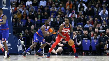 Knicks 100-101 Wizards