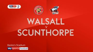 Walsall 1-2 Scunthorpe