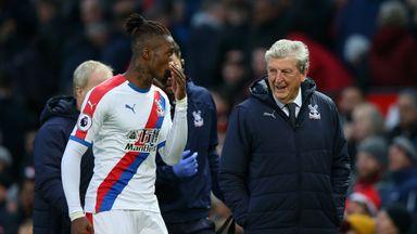 Hodgson: No Zaha approach from Dortmund
