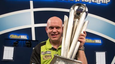 MVG lifts Sid Waddell Trophy
