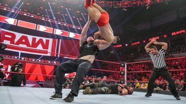 Lesnar assaults Balor during his match