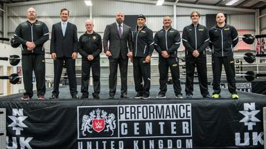 Triple H proud of UK Performance Center