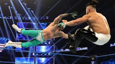 Rey Mysterio takes on Andrade
