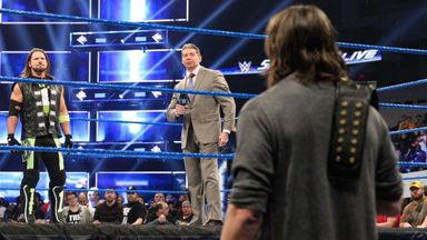 Mr. McMahon hosts chaotic Styles & Bryan stand-off