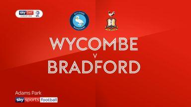 Wycombe 0-0 Bradford