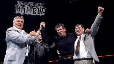 When Mr McMahon won the Royal Rumble!