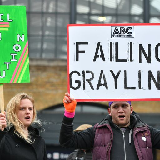 Off the rails: Seven mishaps by 'failing' Grayling