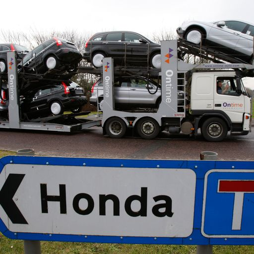 Honda to stop production for six days after Brexit