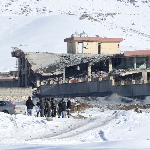 'Powerful explosion' as Taliban car bomb kills more than 100