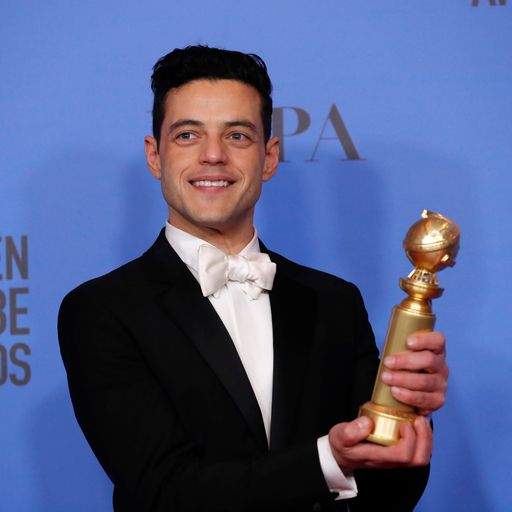 Golden Globe glory for British stars and Bohemian Rhapsody