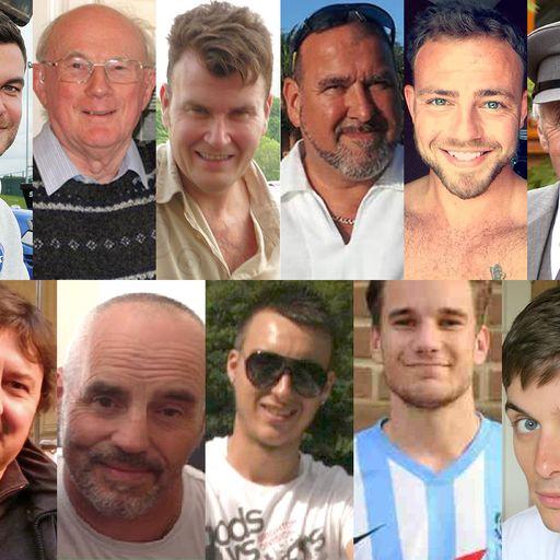 Who were the Shoreham airshow crash victims?