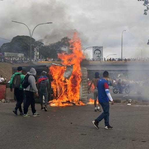 Locked in a power struggle: Guaido v Maduro