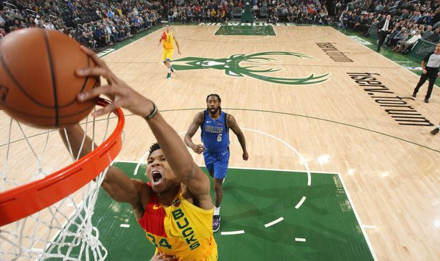 Giannis Antetokounmpo scores 31 to lead Milwaukee Bucks to MLK Day win over Dallas Mavericks