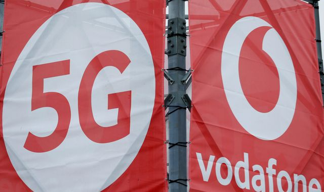 Vodafone slashes share payout after posting £6.6bn loss